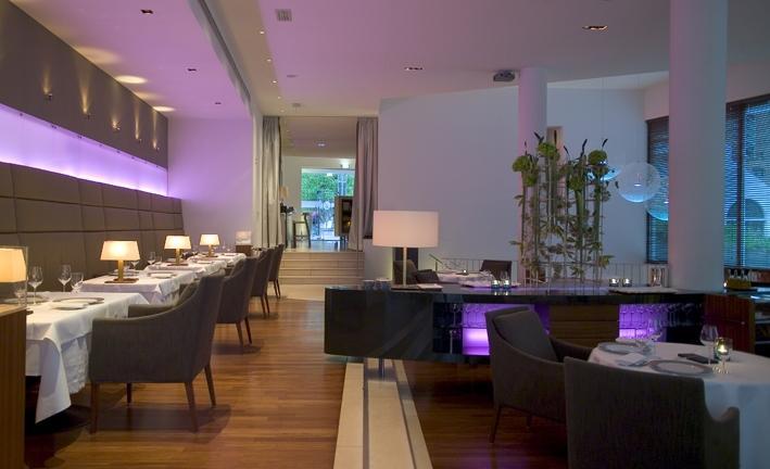 Houten vloer in Restaurant Beluga