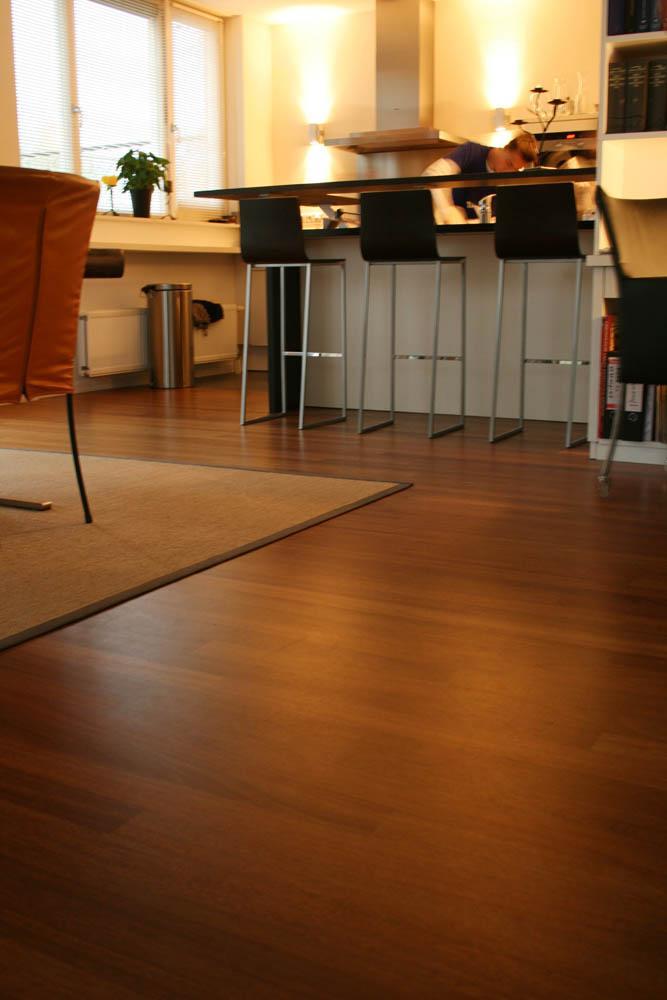 Parket vloer in Oosterhout