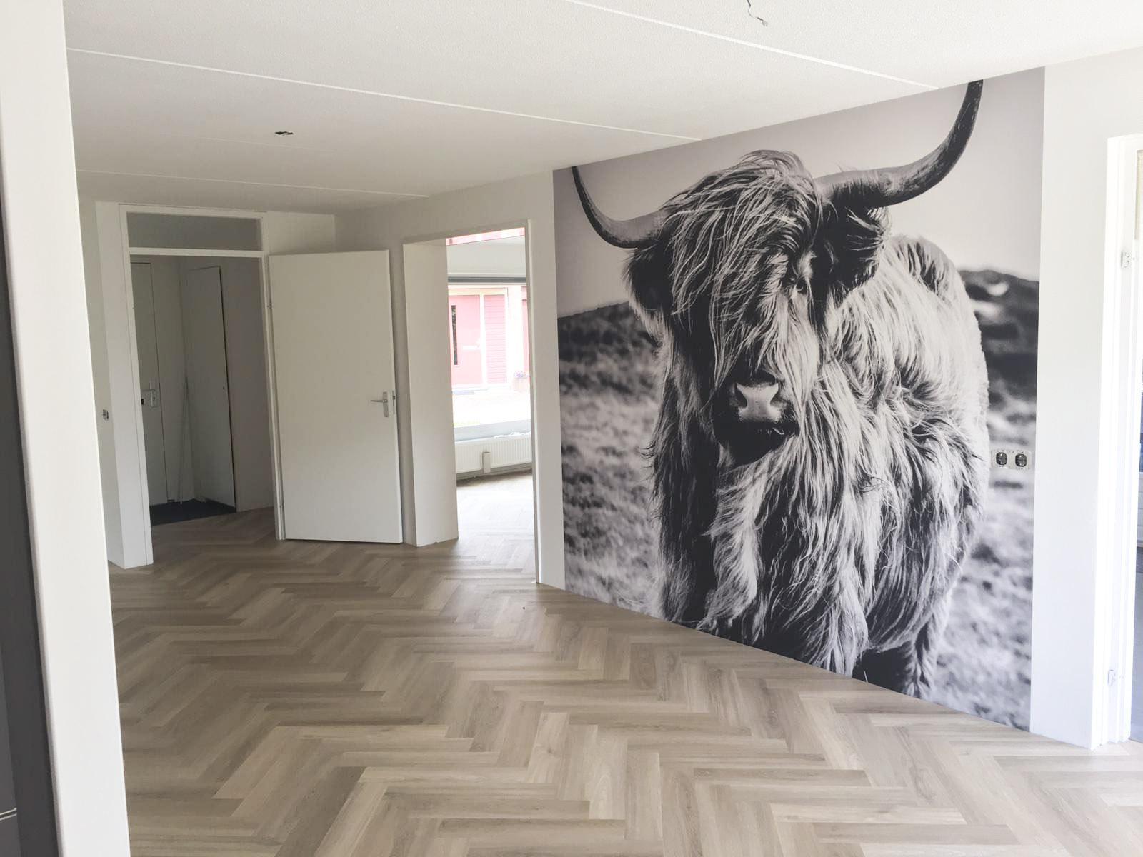 PVC visgraat vloer in Friesland